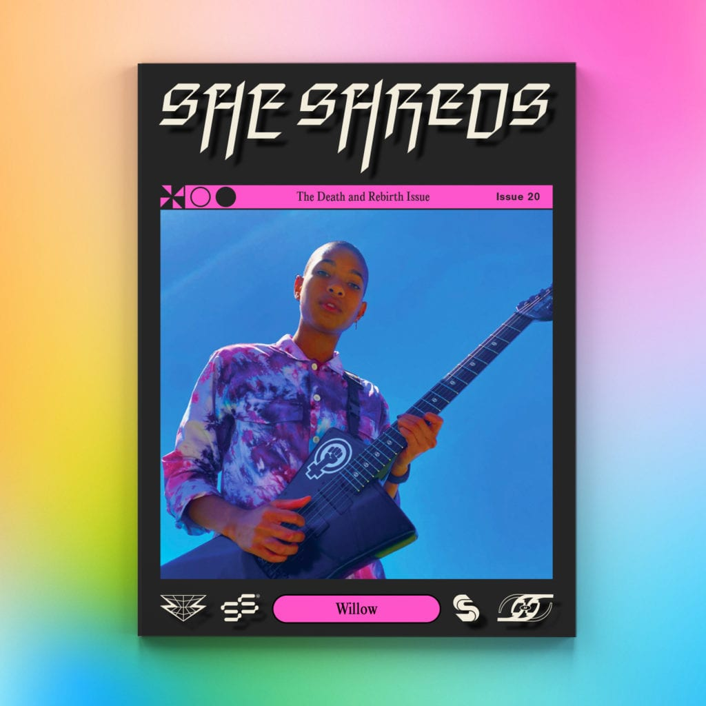 She Shreds – Final print issue