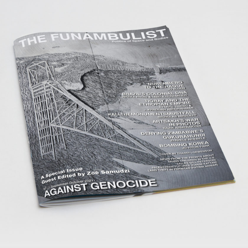 The Funambulist #37 – Against Genocide